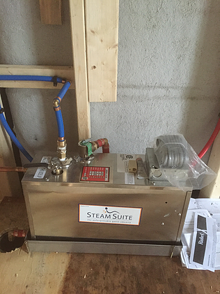 The steam suite steam unit. Great for new construction projects.